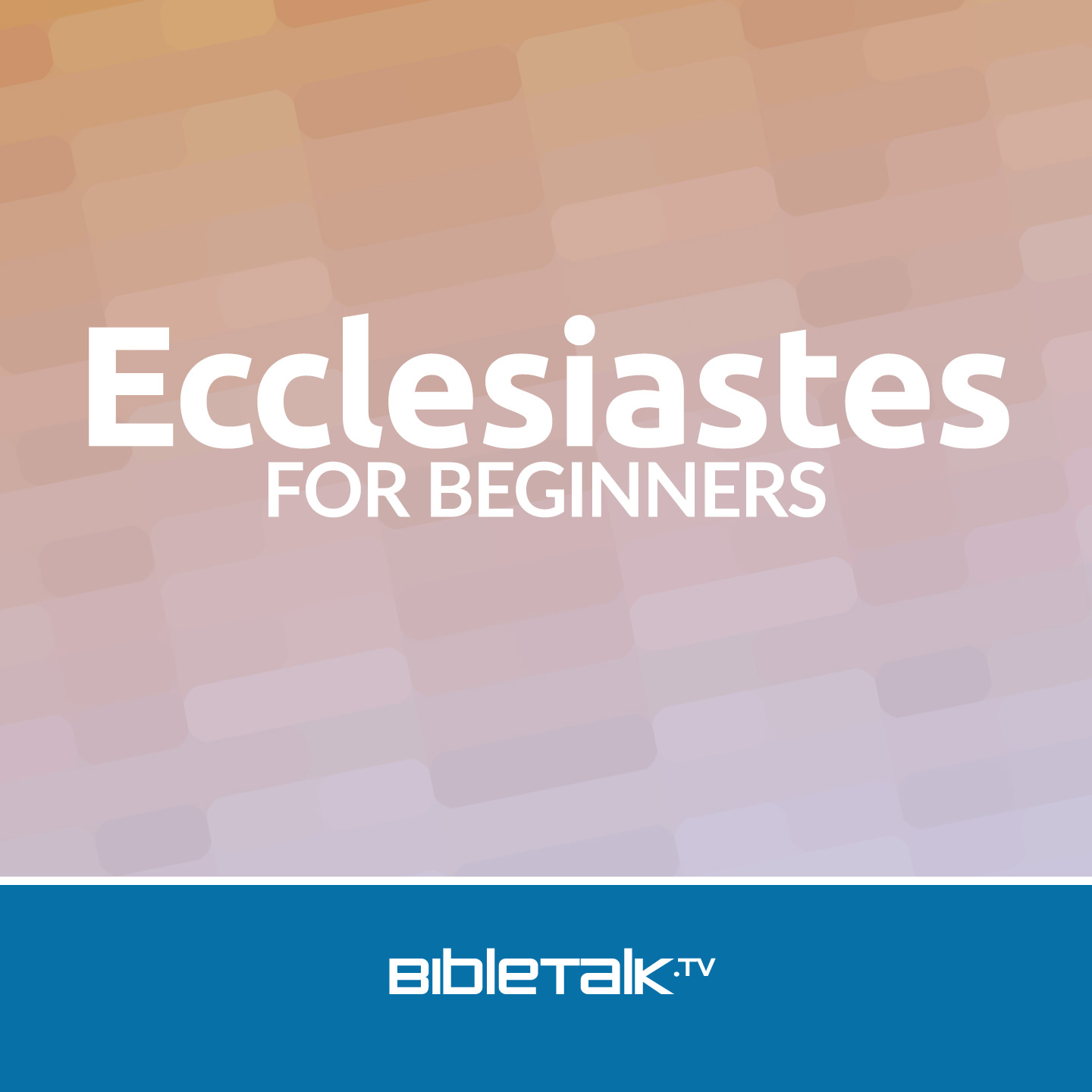 Ecclesiastes for Beginners | BibleTalk tv