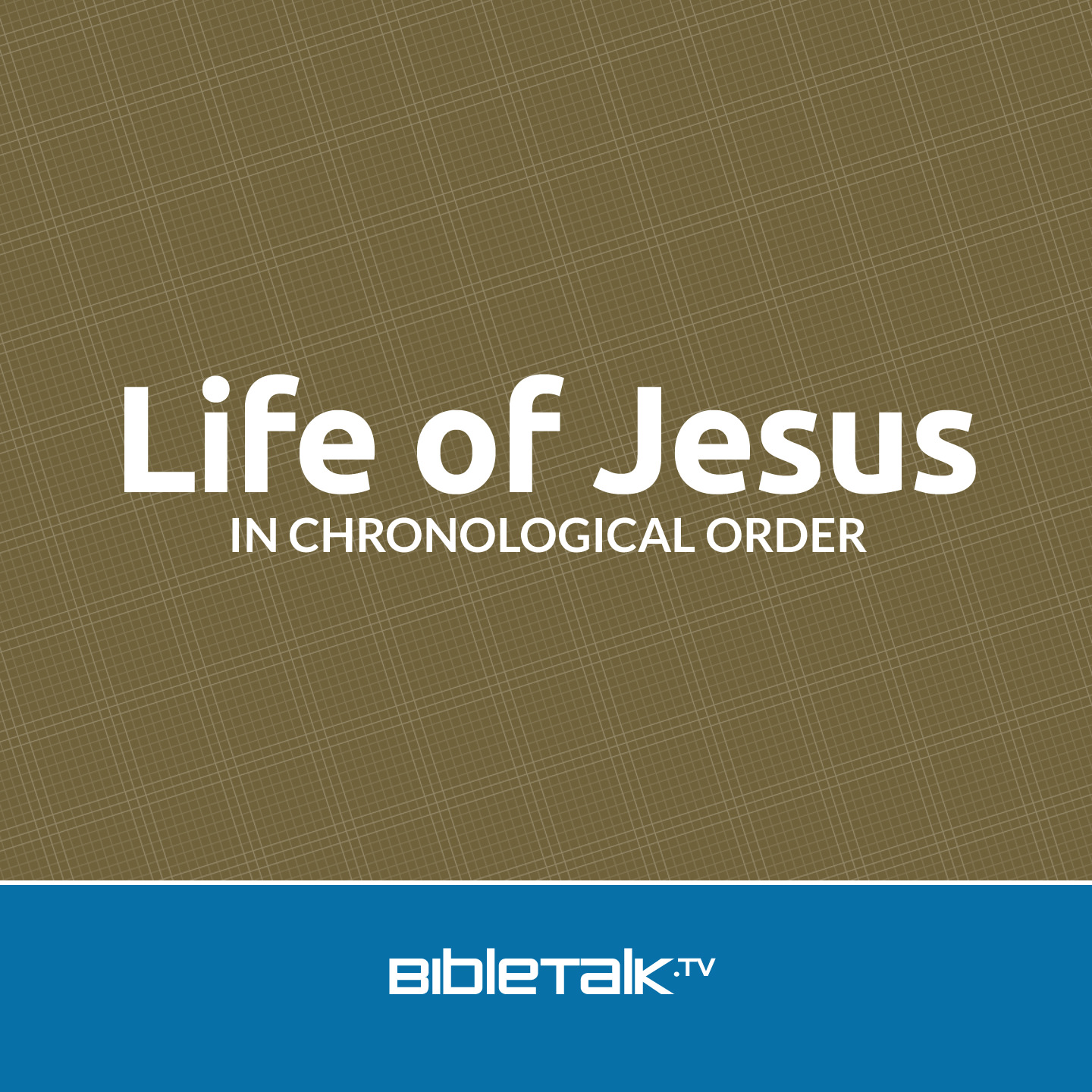 jesus life Jesus wants us to understand that he is the creator and the sustainer of life  stever farrar shares about how jesus is our manna, our constant.