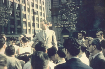 Jimmy Jividen, Dominion Square, 1957